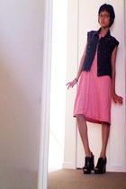 vest - dress - shoes
