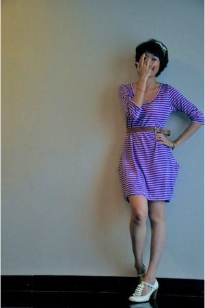 purple iconia dress - green - beige Scooter shoes