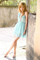 chiffon Dress dress - leather Loafer loafers