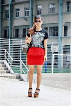 peplum sammydress skirt - aviator Mango sunglasses