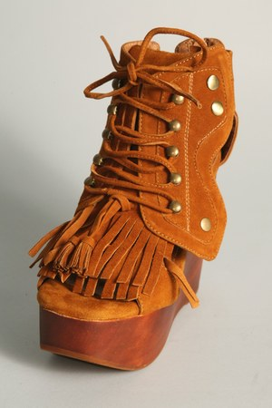 tan Jeffery Campbell wedges