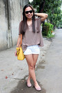 Bkk-bag-metro-shorts-penshoppe-flats-thrifted-top