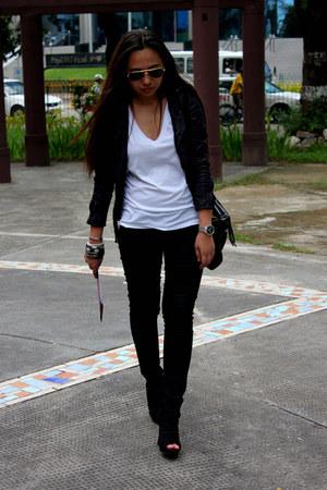 BESTFINDS THRIFTSHOP jacket - Payless boots - Forever21 jeans - Shop  ME bag