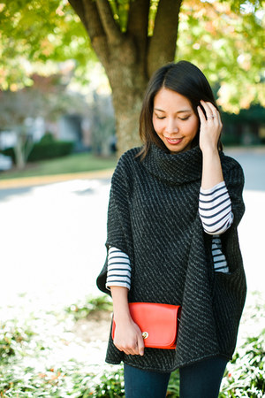 Joie sweater - coach bag - H&M top