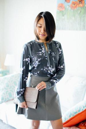 Rebecca Taylor blouse - Zac Posen bag