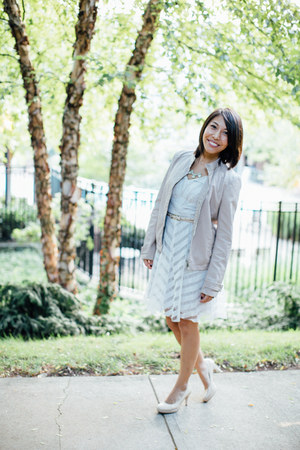 calvin klein jacket - modcloth dress