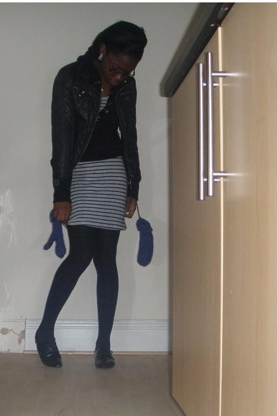 H&M dress - Topshop gloves