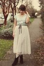 Dsw-boots-costco-shirt-vintage-skirt
