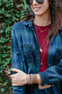 Denim-levis-jeans-forest-green-flannel-bdg-shirt