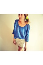 H&M sweater - Zara shorts