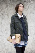 Misslittletouch bag - Zara boots - OASAP shorts