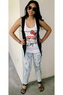 Urban-outfitters-vest-forever-21-shoes-forever-21-shirt-forever-21-glasses