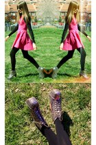 black massimo dutti Zara sweater - silver Jeffrey Campbell boots