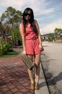 Pink-vintage-united-colors-of-benetton-suit-brown-online-shoes-brown-vintage
