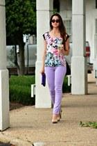 lavender skinny White House Black Market jeans