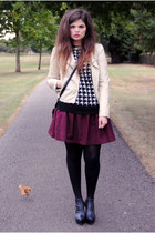 South jacket - Monki skirt - Topshop jumper