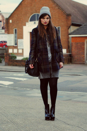 asos coat - asos wedges