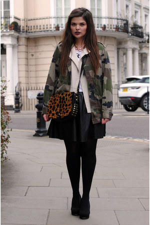 urban outfiters jacket - Topshop skirt