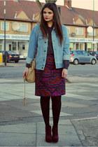 Topshop skirt - asos jacket
