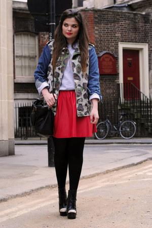 Topshop jacket - asos skirt