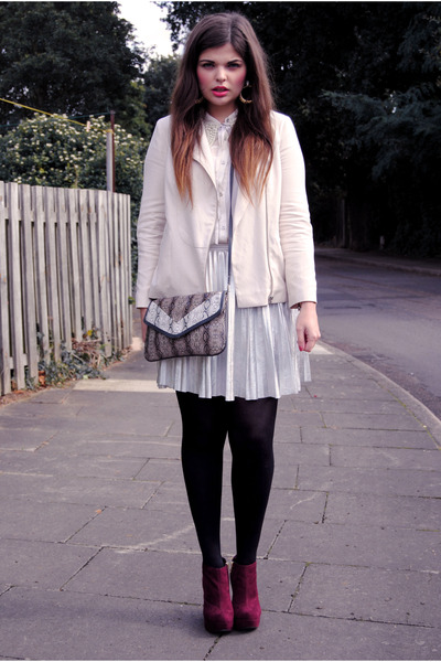 Topshop jacket - River Island skirt