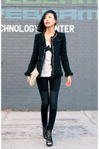 black misspouty jacket - black Miss Sixtypouty leggings
