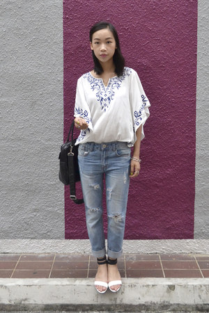 Echcoes top - new look jeans