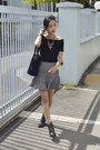 Ankle-boots-h-m-boots-off-shoulder-young-hungry-free-top-oasapcom-skirt