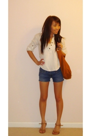 shirt - shorts - purse - shoes