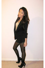 Black-she-said-blazer-white-forever-21-top-gray-fcuk-shorts-black-forever-