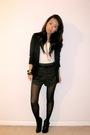 Black-she-said-blazer-white-forever-21-top-gray-fcuk-shorts-black-forever-