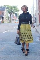 Costa Blanca shirt - Ebay bag - winners skirt - Forever 21 pumps