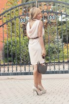 UrbanOG dress - Vintage Fendi purse - GoMax pumps