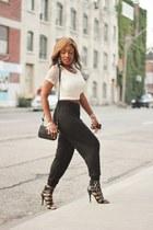 coach purse - Forever 21 heels - H&M pants - H&M top