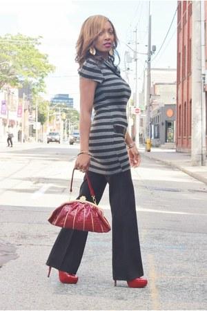 Local Boutique dress - Local Boutique purse - C Label pumps - winners pants