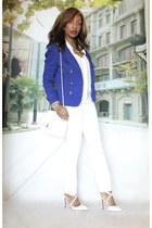 Forever 21 jacket - Forever 21 blazer - Forever 21 shirt - Chanel purse