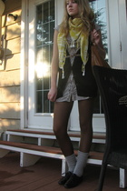 dress - Jacob sweater - Lilimill shoes - scarf