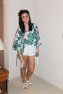 Green-laundry-boutique-blazer-black-river-island-bag-white-primark-shorts