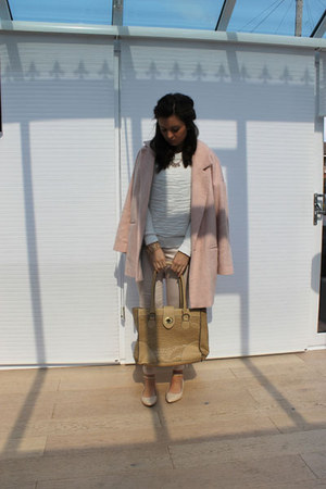 Bershka jumper - River Island coat - Miss Selfridge bag - H&M pants