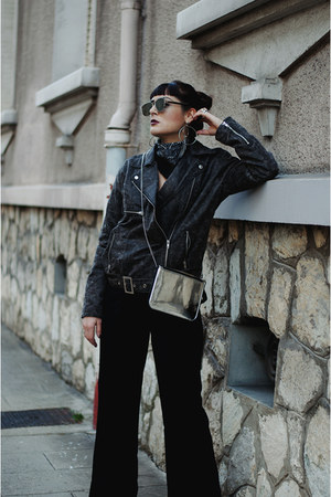 asos jacket - Spitfire sunglasses - weekday pants
