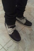 black Sebago shoes