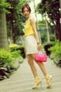 Hot-pink-prada-bag-yellow-cherries-print-h-m-socks