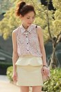 Light-pink-swaychic-blouse-light-pink-polka-dots-bow-red-valentino-bag