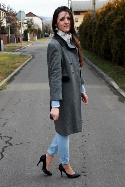 light blue H&M jeans - sky blue H&M sweater