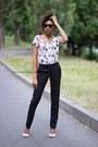 Crop-zara-top-classic-oggi-pants-sandal-zara-heels