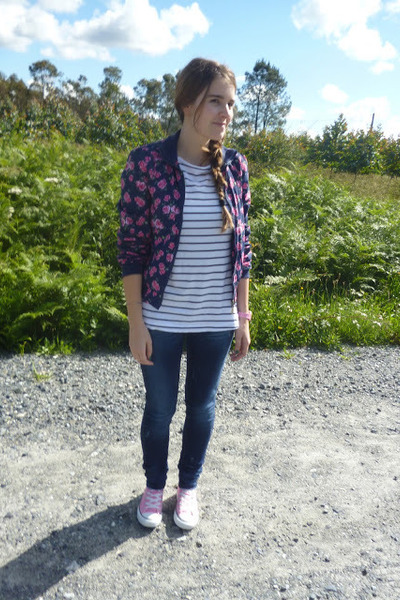 bubble gum Primark jacket