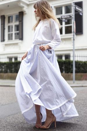 periwinkle shirt dress Lilly Ingenhoven dress