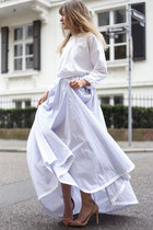 periwinkle shirt dress Lilly Ingenhoven dress