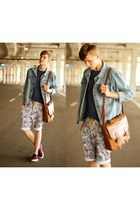 Jacket jacket - shorts shorts - Tee t-shirt