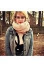 Bunny-forever-21-sweater-floral-print-target-jeans-denim-forever-21-jacket